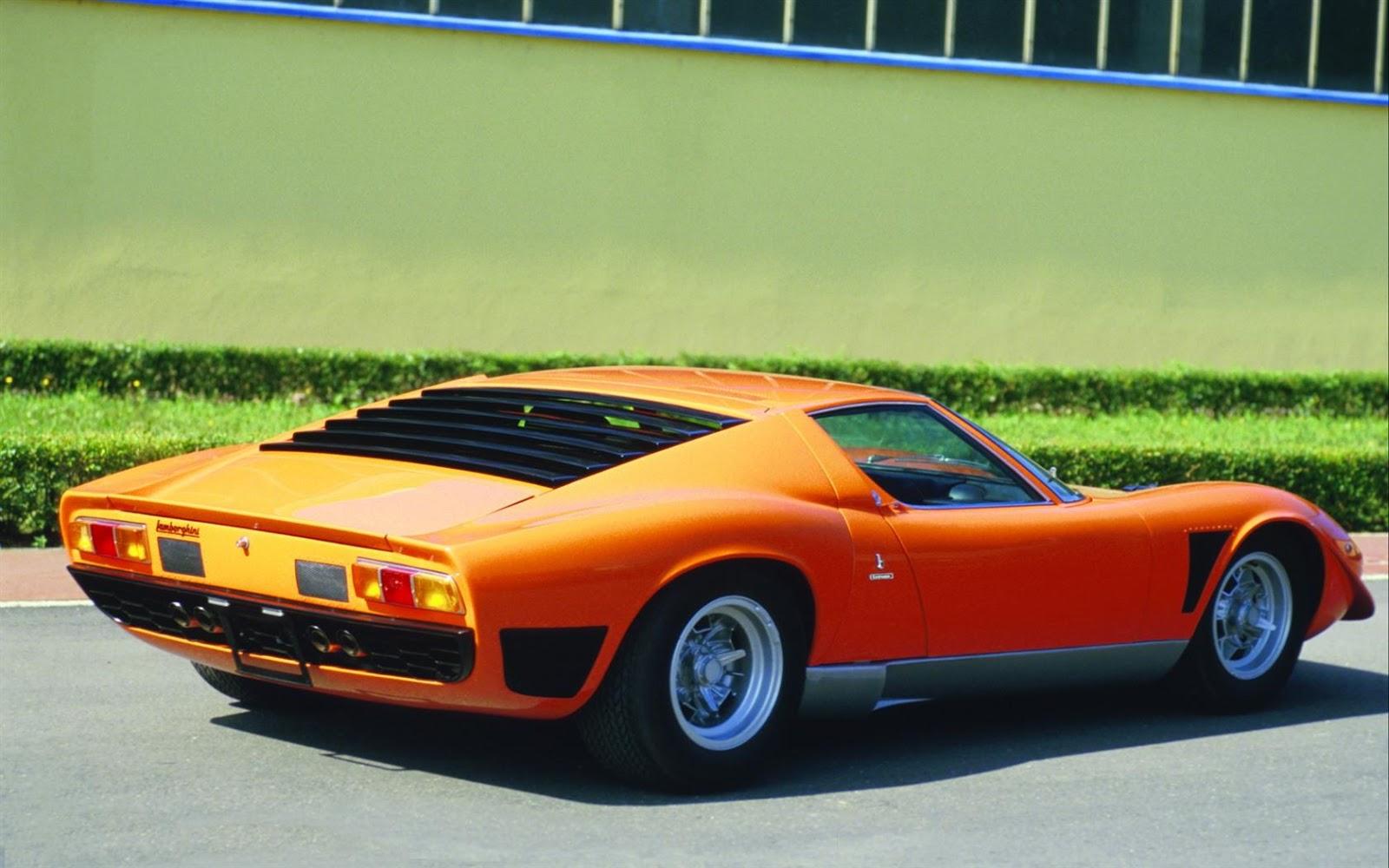 Luxury Lamborghini Cars: Lamborghini Miura Wallpaper