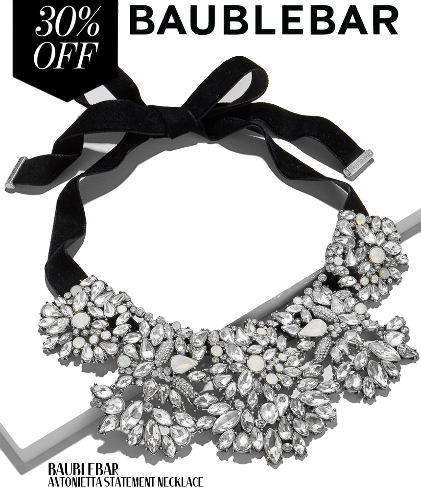BAUBLEBAR ANTONIETTA STATEMENT NECKLACE