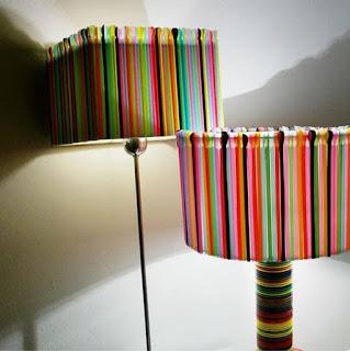 Lampion dari Sedotan