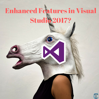 What are the enhanced features in visual studio 2017