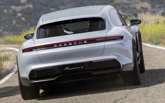 Porsche Mission E tem sinal verde para produção em série