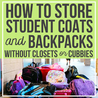 Storage Solutions For Student Bags And Coats In The