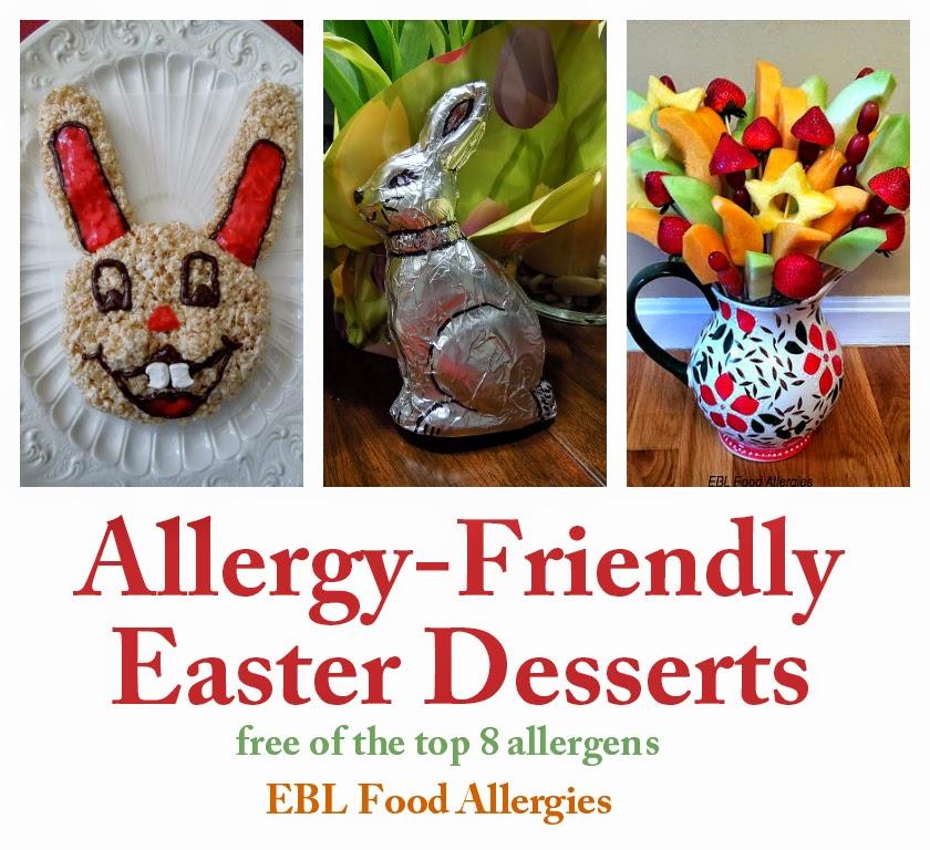 EBL Food Allergies: Allergy-Friendly Easter Desserts