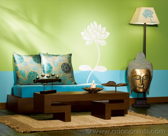 Art scene india wood furniture as d cor statement for Asian paints colour shades for living room