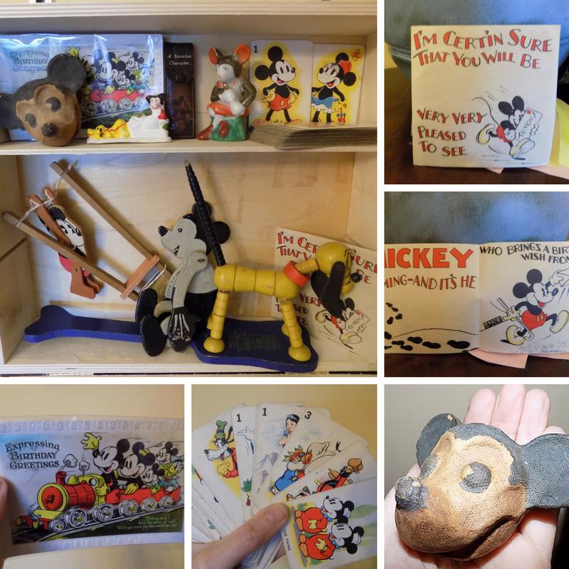 Wordless Wednesday Mickey Mouse: Not Quite Wordless Wednesday: Nostalgia- 1930s Mickey