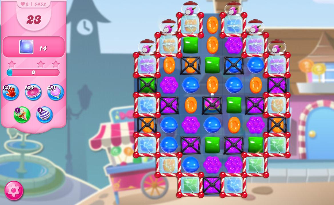 Candy Crush Saga level 5452