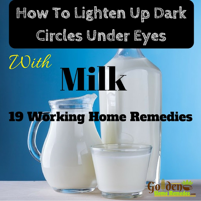 Milk For Dark Circles, How To Get Rid Of Dark Circles, How To Remove Dark Circles, Home Remedies For Dark Circles, Dark Circle Home Remedies, Dark Circle Treatment, Dark Circle Remedies, How To Treat Dark Circles,