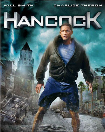 Poster Of Hancock 2008 In Hindi Bluray 720P Free Download