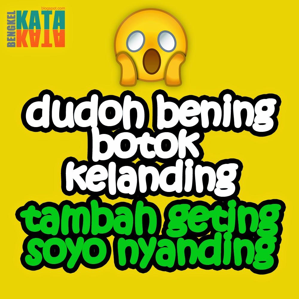 DP BBM Tambah Geting Soyo Nyanding BENGKEL KATA KATA