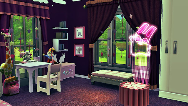 sims 4 purple kids room for girls download,sims 4 room download,sims 4 custom content