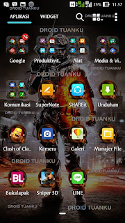 Download Battlefield ZenUI Themes - Droid Tuanku