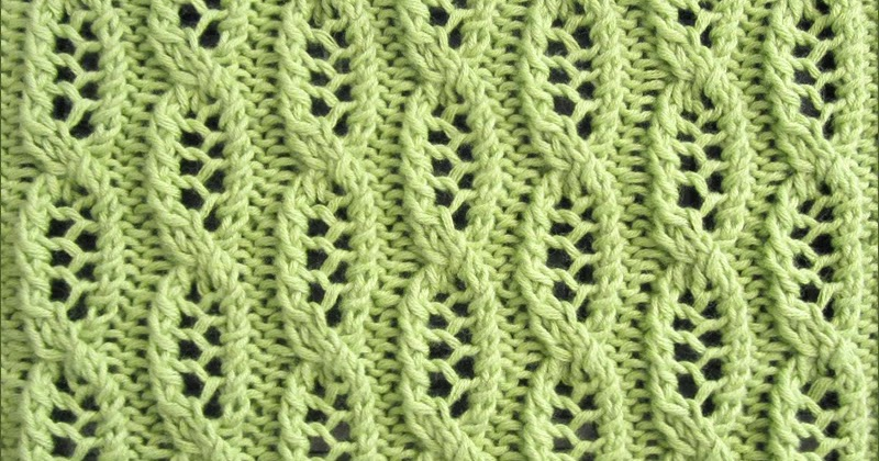 Lace Cable Knitting Stitch Patterns