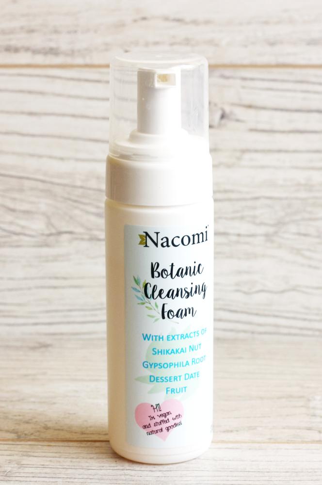 nacomi-botanic-cleansing-foam, nacomi-pianka-do-mycia-twarzy