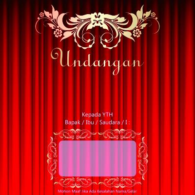Background Undangan Pernikahan Batik Contoh Undangan Pernikahan