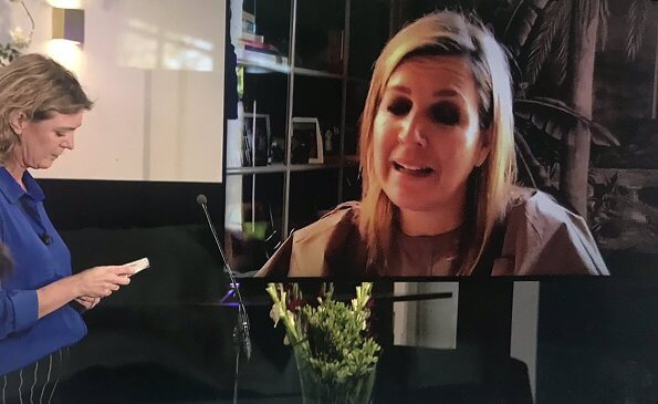 Queen Maxima gave a speech at the online meeting on financial vulnerability in (new) economic reality of Money Wise platform