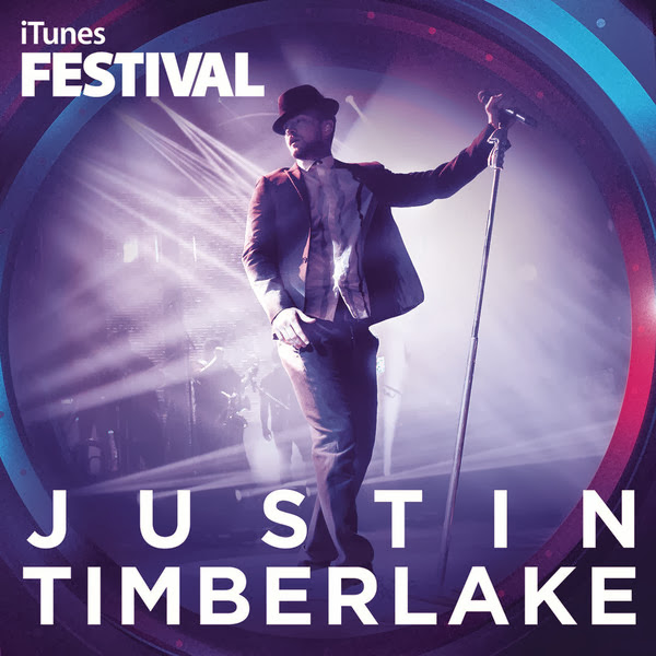Justin Timberlake - iTunes Festival: London 2013 - Single Cover