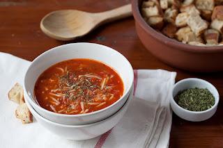Tomato Soup With Vermicelli (Sehriyeli Domates Corbasi)