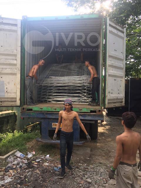Pagar BRC Tiang Pagar BRC, Harga Murah siap antar seluruh indonesia