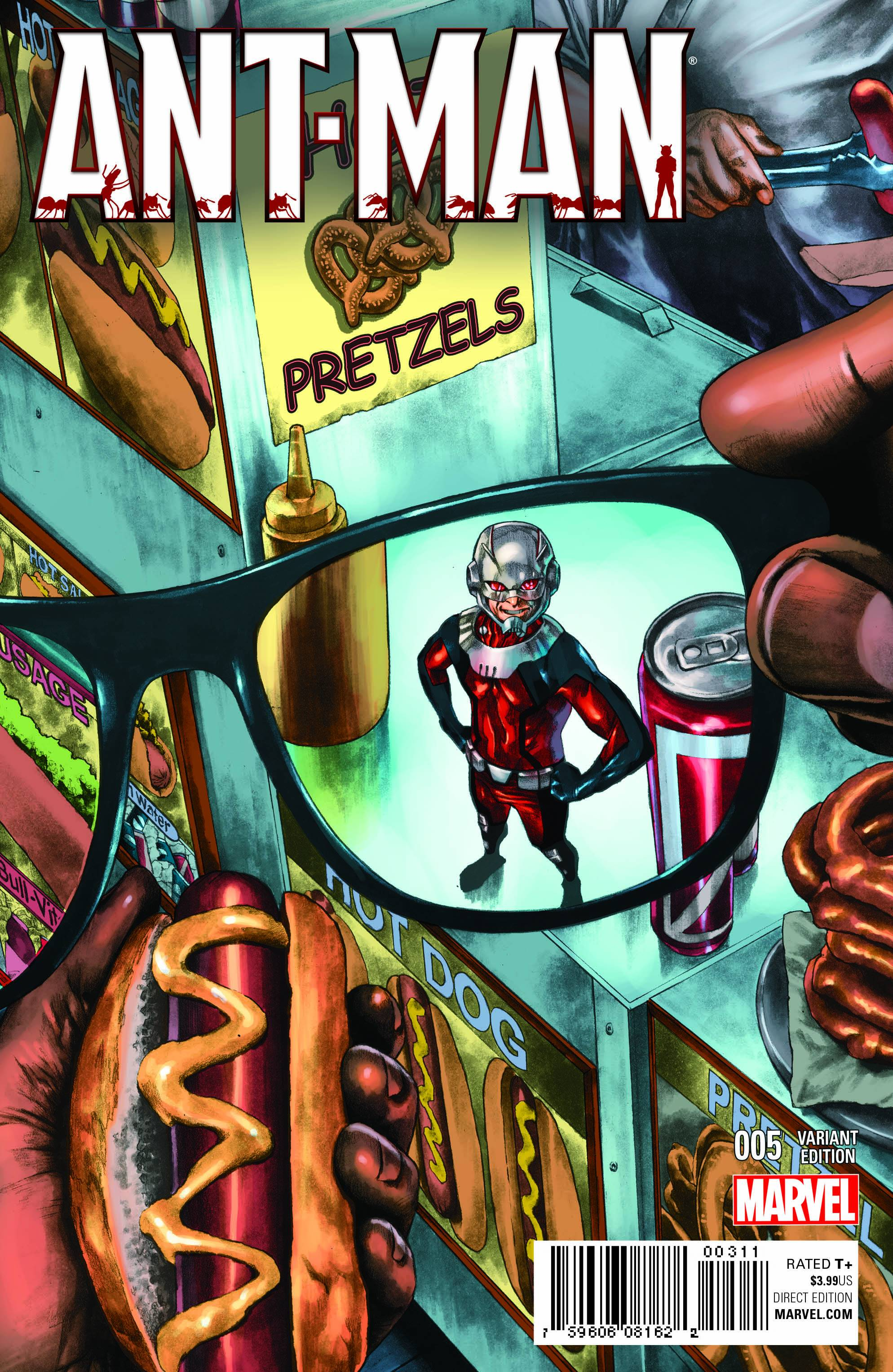Read online Ant-Man comic -  Issue #5 - 2