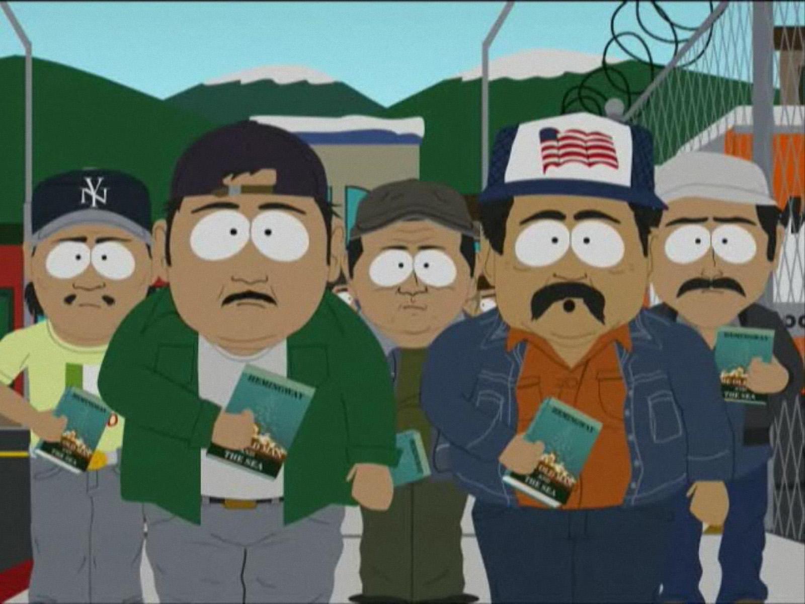 cartman essay mexican