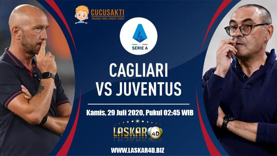 Prediksi Bola Cagliari vs Juventus Kamis, 30 Juli 20202