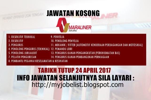 Jawatan Kosong Terkini di MARA Liner Sdn Bhd - 24 April 2017