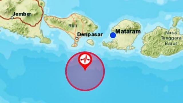 Breaking News!!! Gempa 5,3 SR Guncang Bali dan Lombok, Satu Warga Meninggal