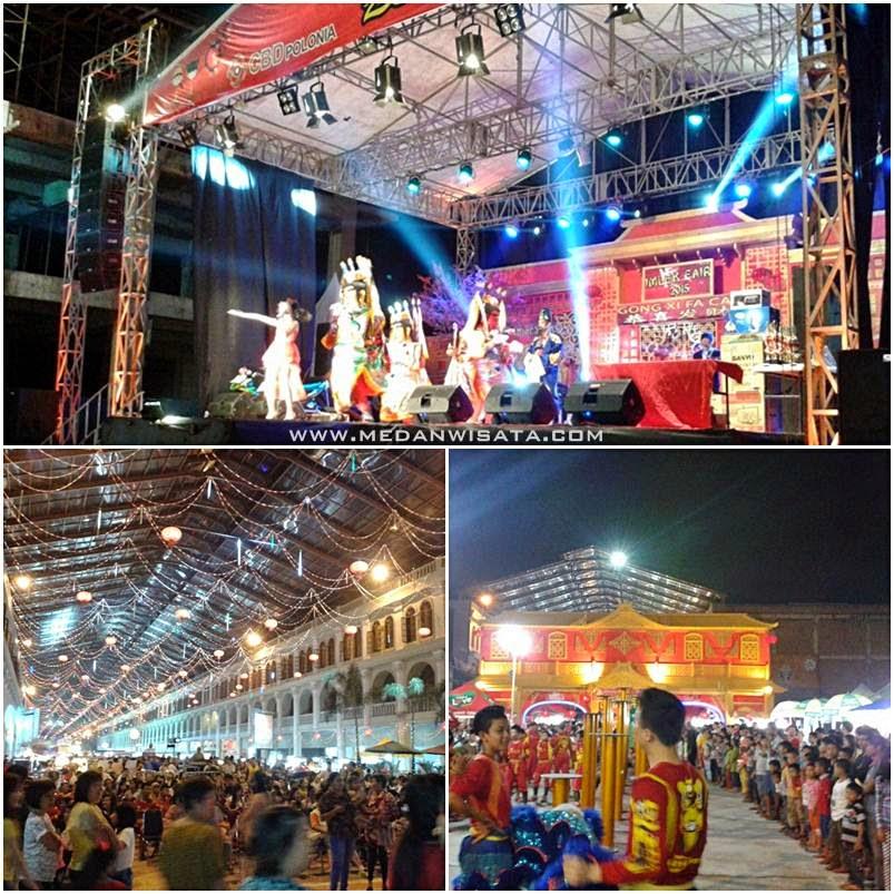 Gebyar Imlek Fair 2015 di CBD Polonia Medan