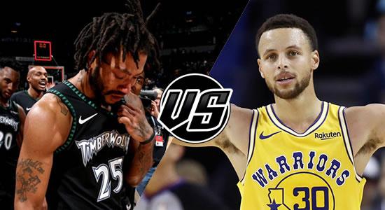 Live Streaming List: Minnesota Timberwolves vs Golden State Warriors 2018-2019 NBA Season