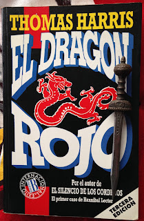 Portada del libro El dragón rojo, de Thomas Harris