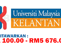 JAWATAN KOSONG TERBARU DI UNIVERSITI MALAYSIA KELANTAN UMK - GAJI RM1,100.00 - RM5,676.00