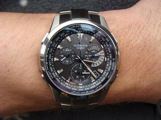 Khám phá sức mạnh của những chiếc đồng hồ Casio Oceanus