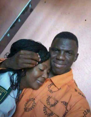 South African prison warder commits suicide after photos showing her hugging and kissing an inmate went viral (photos)