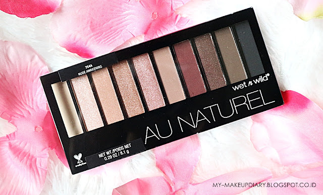 review wet n wild nude awakening palette
