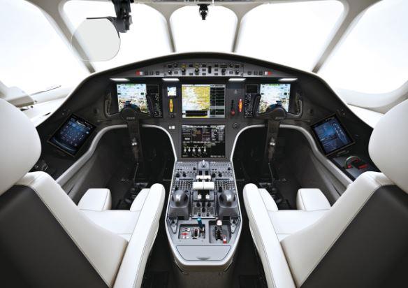 Dassault Falcon 2000S cockpit