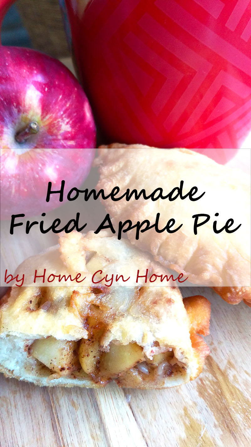 Make your own fried apple pies at home with this simple recipe. Serve hot with a cup of tea on a cool Fall day.