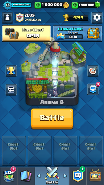 Download Clash Royale 1.9.7 Hack APK Unlimited Mod