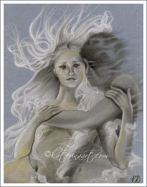 Forgotten Summer by Enchanted Visions artist, Katerina Koukiotis