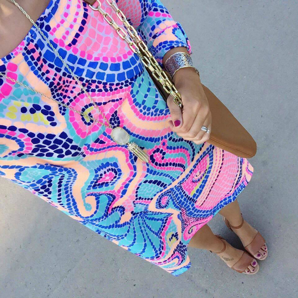 lilly pulitzer, edna dress