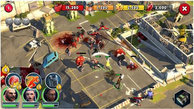 Download Zombie Anarchy War and Survival Gameloft Android Full APK DATA