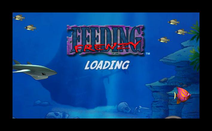 Feeding Frenzy Deluxe - Katılımsız Oyun