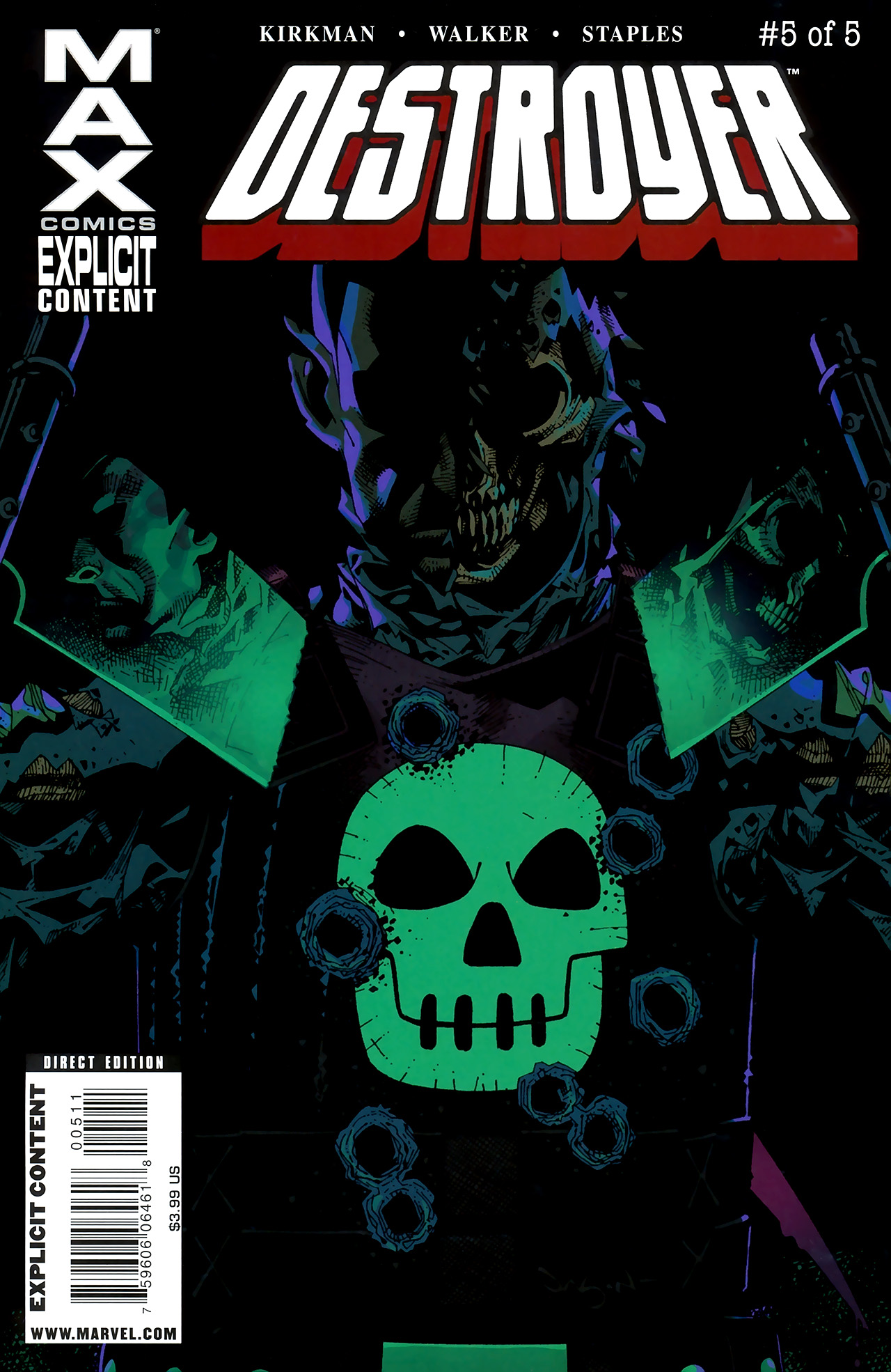 Read online Destroyer comic -  Issue #5 - 1