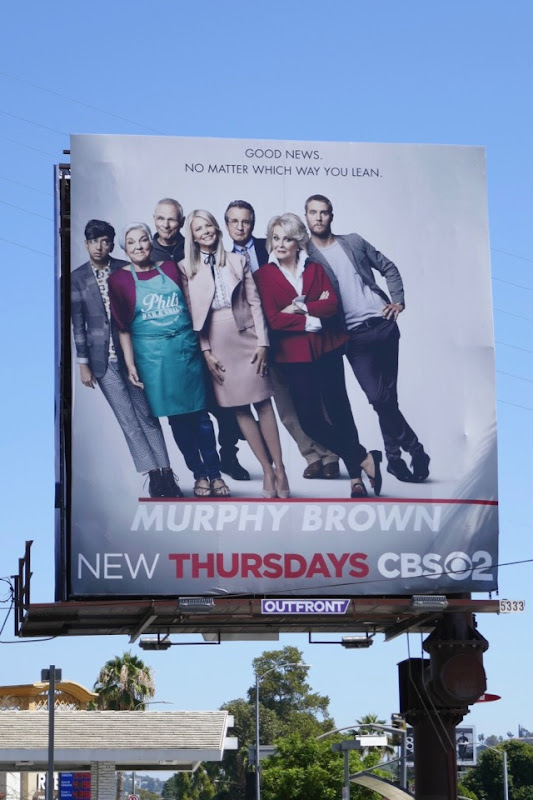 Murphy Brown revival cast billboard