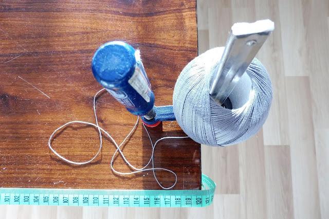 Bawełniane kule DIY