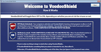 Screenshot VoodooShield Pro 4.17 Full Version