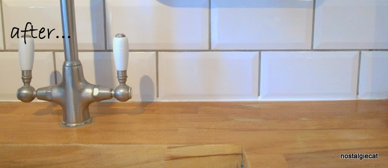 Re Oiling Wooden Kitchen Worktops