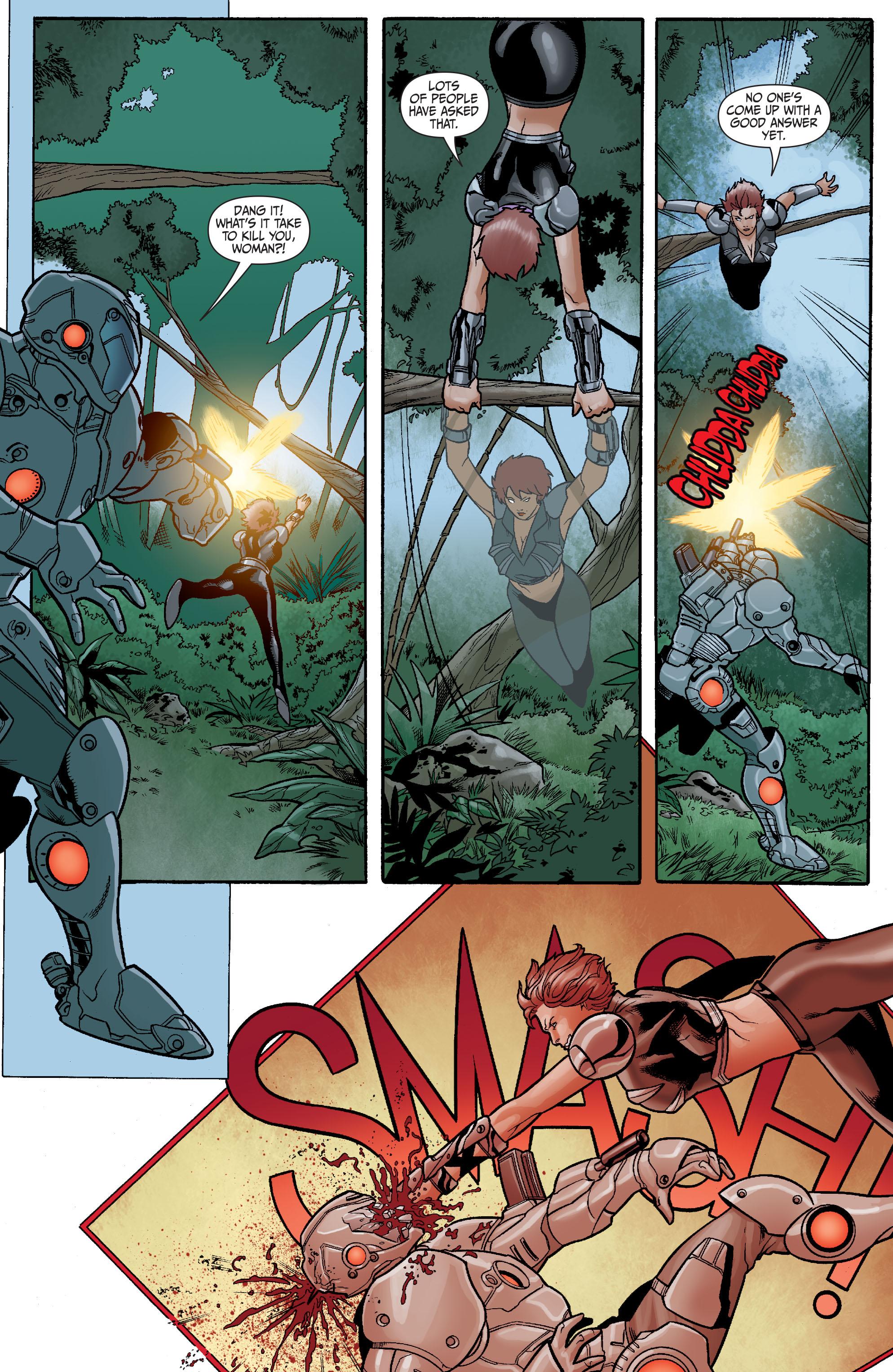 Read online Secret Six (2008) comic -  Issue #23 - 17
