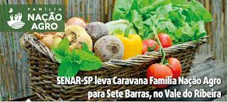 Caravana Família Nação Agro chega a Sete Barras com palestras gratuitas sobre rastreabilidade, e-Social Rural e empreendedorismo