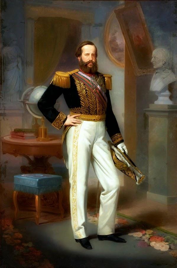 """""""Retrato de Dom Pedro II"""" (1864) - Victor Meirelles de Lima"""