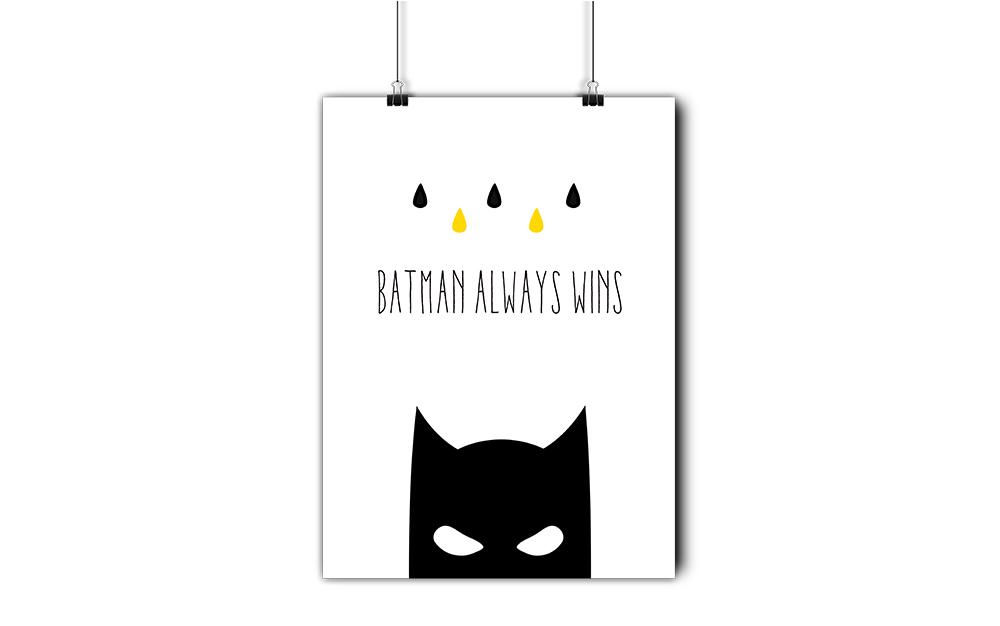 Czarny Batman